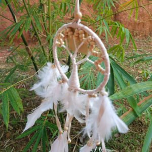 ATTRAPE REVE – DREAM CATCHER – DECORATION – GUYANE0011