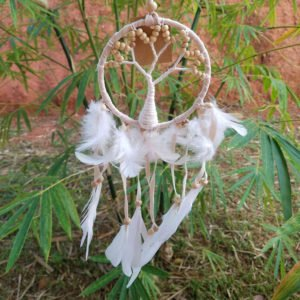 ATTRAPE REVE – DREAM CATCHER – DECORATION – GUYANE0013