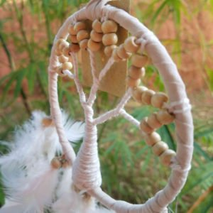 ATTRAPE REVE – DREAM CATCHER – DECORATION – GUYANE0014
