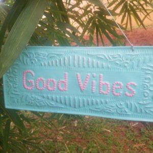 NAMASTE-GOOD KARMA-ZEN-DECORATION-BALI0001