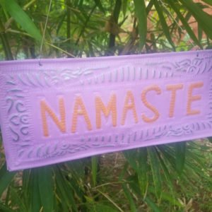 NAMASTE-GOOD KARMA-ZEN-DECORATION-BALI0002