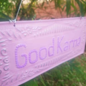 NAMASTE-GOOD KARMA-ZEN-DECORATION-BALI0004