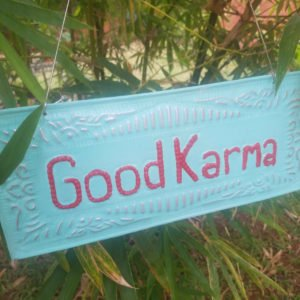 NAMASTE-GOOD KARMA-ZEN-DECORATION-BALI0005