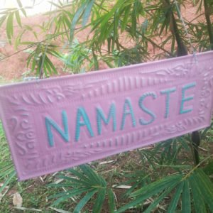 NAMASTE-GOOD KARMA-ZEN-DECORATION-BALI0008