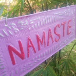 NAMASTE-GOOD KARMA-ZEN-DECORATION-BALI0009